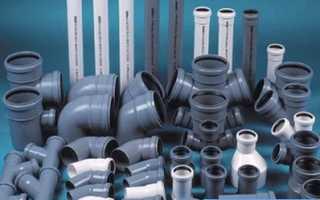 Сантехнические трубы для канализации: виды и особенности монтажа
