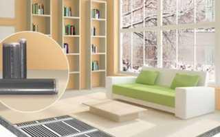 Отопление дачного дома при помощи инфракрасной системы для пола