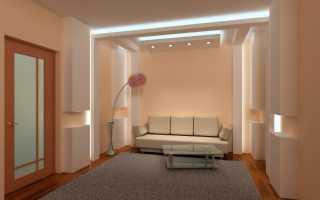 Как установить светодиодную подсветку в квартире своими руками