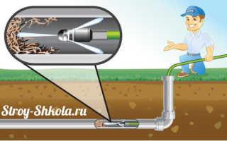 Машина для прочистки канализации: виды и их характеристики
