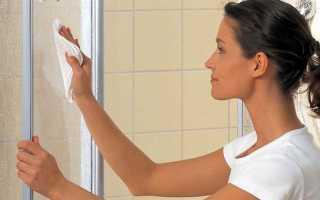 Как почистить душевую кабину в домашних условиях: описание 7-и основных этапов