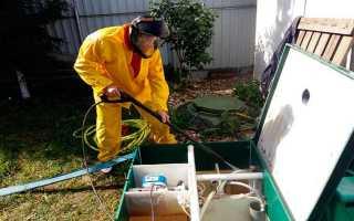 Обслуживание канализации – анализируем основные принципы