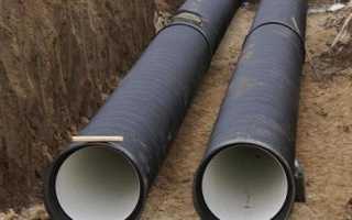 Как и где используется гофрированная канализационная труба