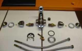 Необходимые запчасти для смесителей при их ремонте
