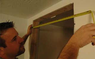 Размер двери в ванной: как избежать ошибок