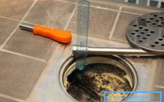 Как правильно установить канализационный трап