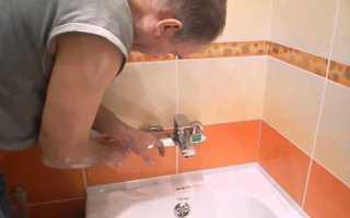 Как поставить кран в ванной: правильная последовательность действий