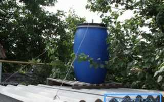 Как установить бак для душа на крышу: технологические хитрости для водоснабжения