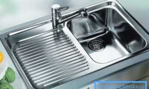 Раковина для кухни из нержавейки: информация об изделии и процессе установки