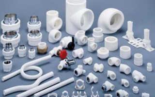 Фитинги для пластиковых труб и их виды