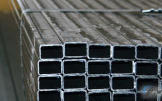 Трубы прямоугольного сечения: технические характеристики и сортамент