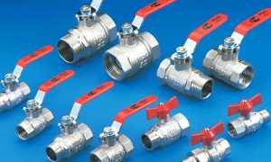 Шаровые краны для водопровода: особенности устройства и эксплуатации