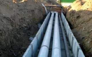 Наружный водопровод и система отведения стоков: что нужно учесть при их сооружении