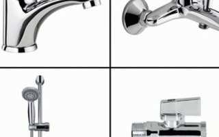 Виды смесителей для раковины: подходы к классификации запорной арматуры