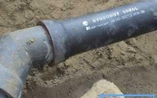Чугунная водопроводная труба по ГОСТу 9583 75: нормативные требования, способы герметизации соединений, альтернативы