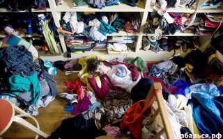 Постоянный беспорядок в шкафу? С помощью наших советов вы сможете избавиться от него