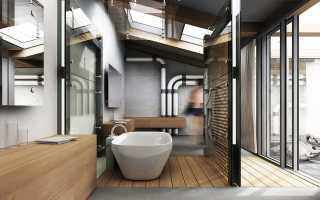 Как сделать ванную комнату в стиле лофт, если у вас немного денег