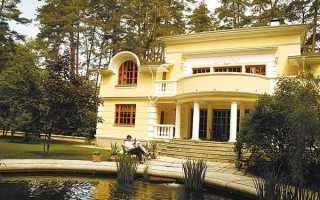 Загородный дом Никиты Михалкова на Николинской горе