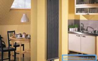 Вертикальные радиаторы отопления – сочетание красоты и эффективности