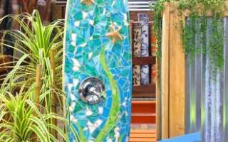 Что представляет собой разборный душ для дачи и его виды