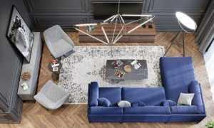 3 шикарных варианта декора для гостиной. Тенденции и идеи из мира моды