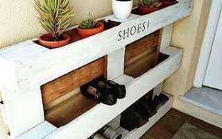 Нестандартные места для хранения обуви